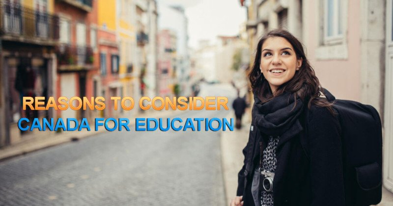 Reasons to Consider Canada for Education